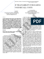 6 Ijaebm Volume No 1 Issue No 1 Economics of Trace Ability for Easing of Food Recall Costs 039 051