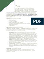 Concept Paper Format