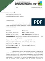 AUTORIZAÇÃO DE BONUS