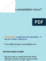 Why Does Precipitation Occur and the UK Climate