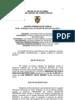indalecio+SENTENCIA Nº 038  - APELACIÓN TUTELA