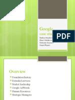 Google - Case Study-2007