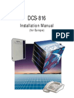 DCS816 Installation Manual