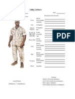 Uniform Inspections Sheets
