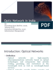 Optic Network in India