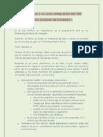 Bienvenida Al Curso Integracion Del CNC en Los Proc de Torneado.