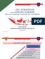 Isu Strategis Keuangan Daerah