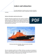 Nuclear Icebreakers and Submarines