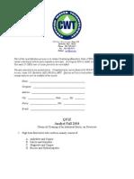 Chemical Cleaning - AWWA