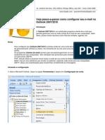 Tutorial de Configuração de Emails