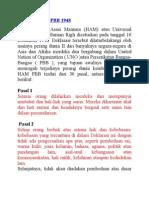Deklarasi Ham PBB 1948