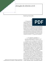 01. Constitucionalização do Direito Civil - Paulo Lobo