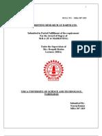 Final Marketing Research+ Adv (Dabur)(2)