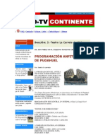 2006-01 Chile TV - RADIO Continente - Noticias