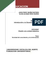 Unidad Didactica - TIC y Educacion (SociedadConocimeinto)2