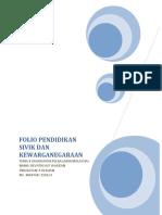 Folio Pendidikan Sivik Dan Kewarganegaraan