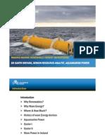 Aquamarine Power - Making Marine Renewable Energy Mainstream
