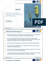 AWS Ocean Energy - Evaluation of Advanced Wave Energy Device