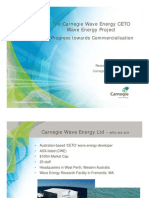Carnegie Wave Energy - CETO Wave Energy Project