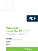 Who will feed the World? The production challenge