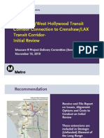 Crenshaw-LAX Line Extensions