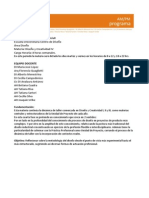 Programa DyC4 - 2011