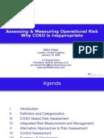 Assessing Measuring Op Risks Am A Khan 011805