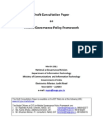 Draft Consultation Paper on Mobile Governance 110411