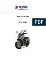 SYM Scooter Parts_rv250
