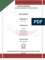 Final Report-Group 8, Radio Mirchi