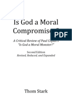 Is God a Moral Compromiser?, By Thom Stark