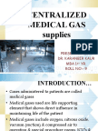 Centralized Medical Gas System