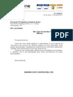 Carta Agradecimento Trelleborg Offshore