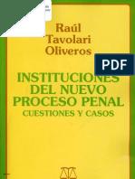 Instituciones Del Nuevo Proceso Penal - TAVOLARI