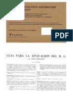 Bender, Lauretta - Test Guestaltico Visomotor(Material de Prueba)