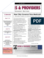 Payers & Providers Midwest Edition – Issue of April 26, 2011