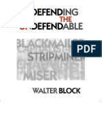Walter Block - Defending the Undefendable (2008)