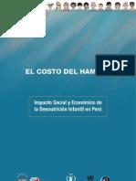 Costo Del Hambre Peru CEPAL