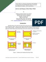 Astaneh-SEAONC-Seminar-Seismic Design of Steel Shear Walls Nov-2001