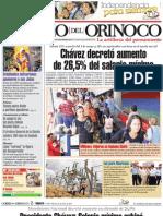 Correo Del Orinoco Del Martes 26 de Abril de 2011 CO 591