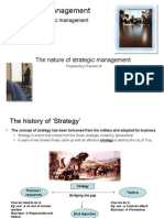 Integrated Management - Nature of SM