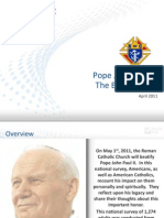 Marist Poll on Beatification of Pope John Paul II