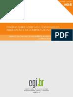 Pesquisa sobre o uso das Tecnologias da Informação e da Comunicação no Brasil – 2007
