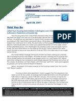 Latest Poor Housing Data Bolsters ValuEngine.com Chief Market Strategist Suttmeier's Predictions of Double Dip