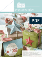 "Stampin"" Up! Holliday Mini 2008 catalog"