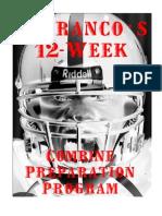 DeFrancos 12-Week Combine Preparation Program