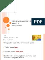 Cardiovascular System 7th Ch 23.1