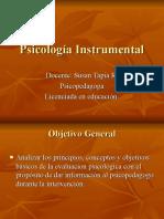 Psicología Instrumental