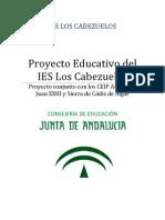 Proyecto Educativo Del IES Los Cabezuelo13