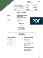 Ante Gotovina Icty Verdict